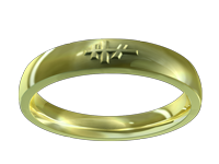 Men's & Women's Orthodox Cross Rings