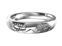 Women's Orthodox Wedding Bands